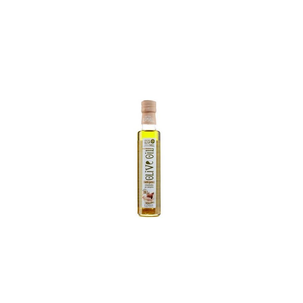 Extra Natives Olivenl Verfeinert Mit Knoblauch 250ml Aromatisches Garlic Oil Oliven L Knoblauchl Aus Kreta Griechenland
