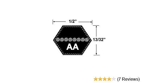 AA88 Hexagonal Mower Drive Belt PIX Premium Quality