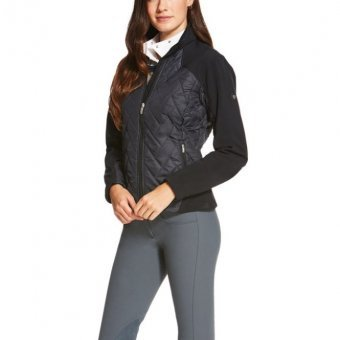 Ariat Damen Reitjacke Brisk, Black, XS (Damen 32/34)