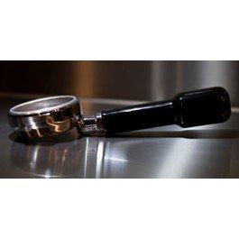 Rocket Espresso Bodenloser Siebträger von Espresso - Messing verchromt