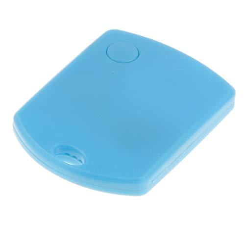 Kesoto cercatore chiave | dispositivo di localizzazione bluetooth per trovare chiavi, telefono, portafoglio, valigie | tag del localizzatore tracker traccia - blu
