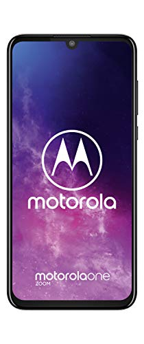 Motorola One Zoom 6.4 Inch FHD+ Display, Quad Camera System, 128 GB/4 GB, Android 9, Dual SIM UK Smartphone, Electric Grey Img 3 Zoom