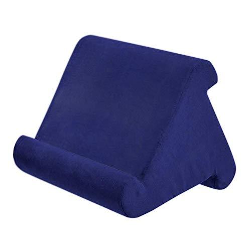 Multi-Angle Soft Pillow Lap Ständer FoMulti-Angle Soft Pillow Ständer Für Tablet,Pillow Sofa Ständer Für Tablets, EReaders, Smartphones, Bücher, Zeitschriften Foam Lap Rest Lesekissen - 5 Co (Laptop-tisch Ereader)