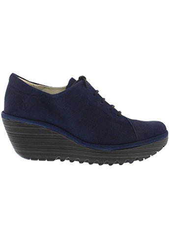 FLY LondonYumi683fly - Scarpe con pizzo Donna Blue
