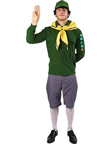 (Pfadfinder Kostüm für Herren Karneval Fasching Verkleidung Mottoparty Extra Large)