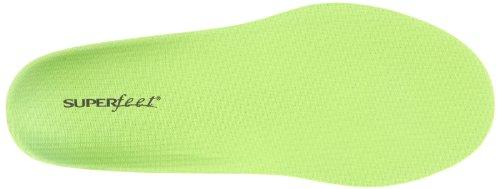 Superfeet - Large Green Premium Semelles pour hommes Vert (Wide Green)