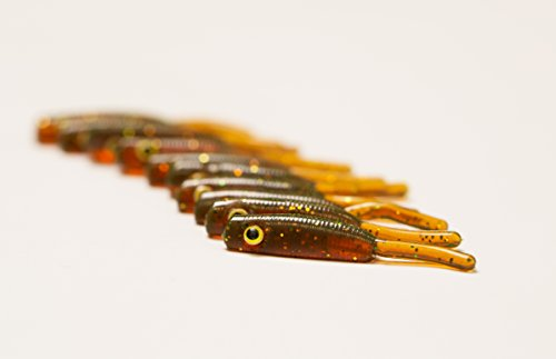 Nano fry / tadpole fishing lure 1.2'' (30mm) 3g / 10 x...