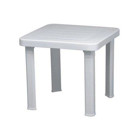 Table pour hamac plage et piscine Andorre mho103224 blanc