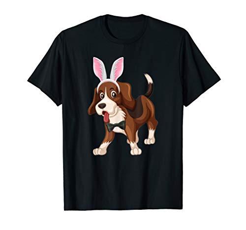 Beagle im Osterhasen Ei Kostüm T-Shirt - Beagle Jungen Kostüm