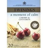 My review of Twinings Cherry & Cinnamon Tea 20bag