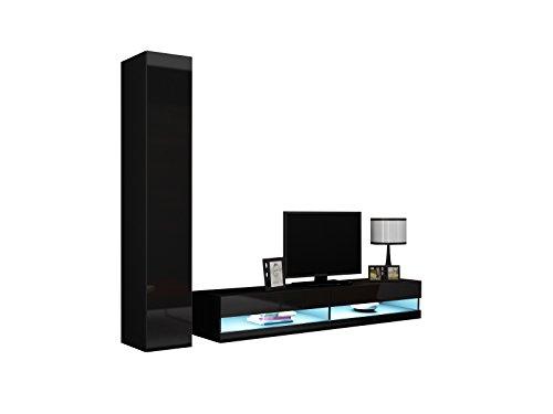 Wohnwand Vigo New IX Design Mediawand Modernes Wohnzimmer