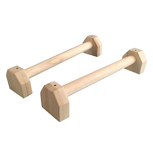 soundwinds Personalisierte Push up Stand Holz, SP-LE Ständer H Form Calisthenics Handstand Bar für Arm Brust Muskel Training Fitness Equipment 1 Paar (Training Brust-muskel)