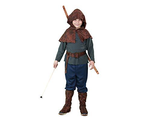 BOYS TOYS Kostüm Robin Hood 7-9 Jahre (Robin Hood Boy Kostüme)