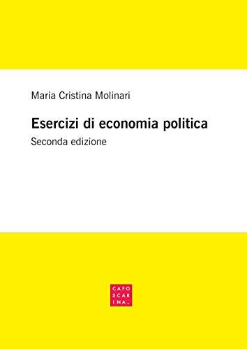Esercizi di economia politica