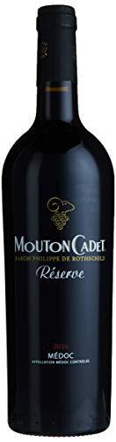 Baron Philippe de Rothschild Mouton Cadet Réserve Medoc 2015/2016, 750 ml Rothschild Hat