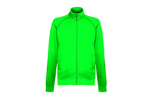 Fruit of the Loom Lightweight Sweat Jacket, Felpa Uomo Grün (Kelly Green 47)