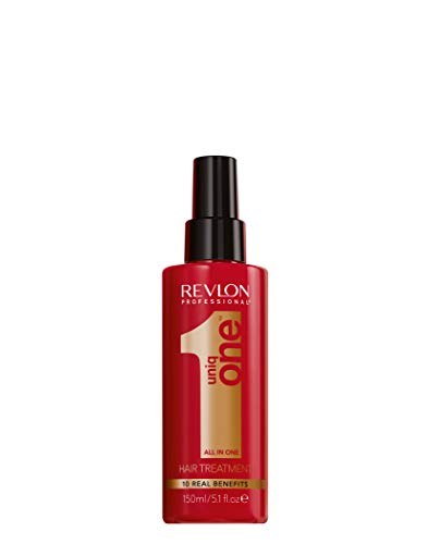 REVLON PROFESSIONAL Uniq One Hair Treatment Sprühkur ohne Ausspülen, 1er Pack (1 x 150 ml) - Seidige Duft-spray