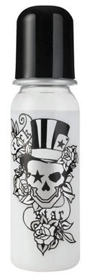 Rock Star Baby Botella tattoo-pirat 250/ ml