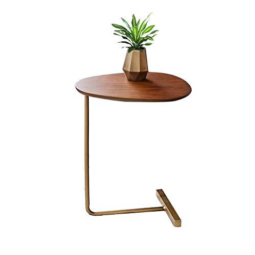 Sofa Beistelltisch, Couchtische Kunst/Side Coffee Dining End Table, Beistelltisch Industrial Nightstand Nachttisch, Retro Rustic Chic Wood Look, Rustic Brown -