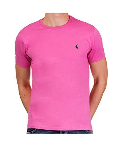 Ralph Lauren T-Shirt Cotone 710671438 Pink Size:M