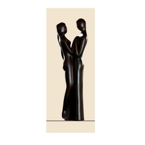 """Gilde Sculpture Francis """"Herzenssache"""" braun 44cm (30101) NEU"""