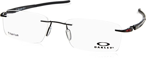 Ray-Ban Herren 0OX5126 Brillengestelle, Braun (Polished Black), 52