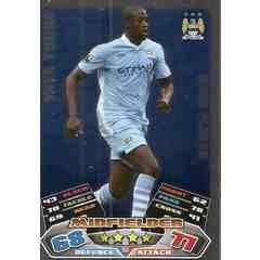 Match Attax Yaya Toure 11/12 Manchester City 2011/2012 Star Player [Toy] Manchester City Yaya Toure