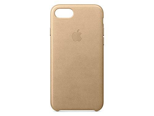 Apple iPhone 7 Lederhülle, Mandel