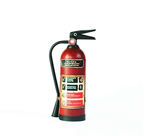 HLGQ Extintor de Hierro Forjado Retro Modelo