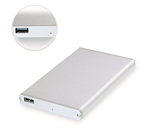 [UASP und SATA3 kompatibel] Cateck USB 3.0 Externes Festplattengehäuse für 9.5mm 7mm SATA HDD SSD (Sata Disk Drive)