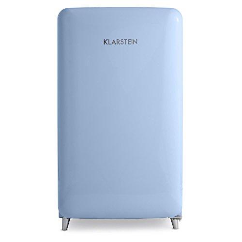 Klarstein PopArt Blau Kühl Gefrierkombination Retro Kühlschrank   4