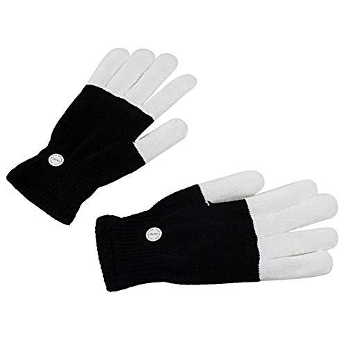 Wovemster LED Magische Handschuhe mit 6 Modus, Blinkende Handschuhe Spielzeug für Halloween, Party und Karneval, Kostüm Beleuchtung Geschenke für Kinder, Mädchen, (Kamin Mädchen Kostüm)