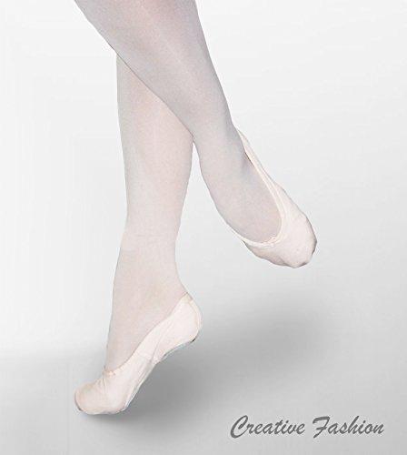 Kostov Sportswear Ballettschläppchen Optima (Leinen) Weiß