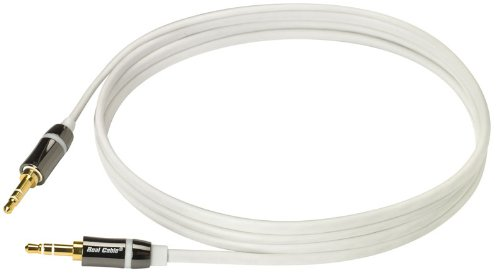 Iplug Jack (Real Cable iplug-j35m/1M50Kabel 3,5mm Stereo Jack Männlich/Männlich)
