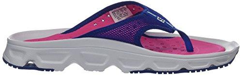Salomon Damen RX Break Traillaufschuhe Weiß (White/pink Yarrow/surf The Web White/pink Yarrow/surf The Web)