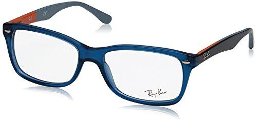 Ray-Ban Damen Brillengestell 0rx 5228 5547 55, Blau (Blue)