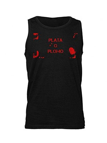 bloody-plata-o-plomo-artwork-mens-tank-top-shirt-medium