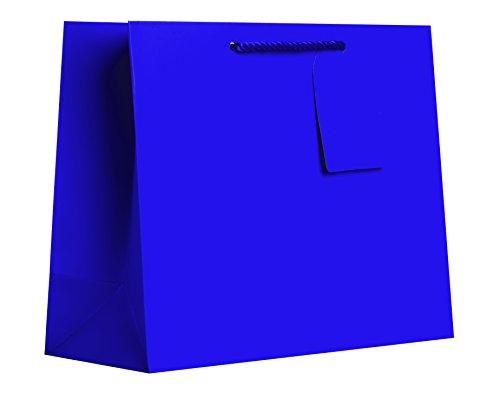 JILLSON Roberts Große Geschenk Taschen erhältlich in 14Farben, lime grün matt Katzentoilette, (lt941) Purple Matte