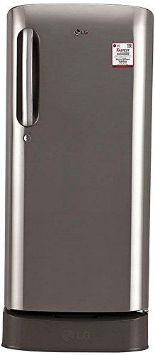 LG 190 L 3 Star Direct-Cool Single Door Refrigerator (GL-D201APZW.APZZEBN,...