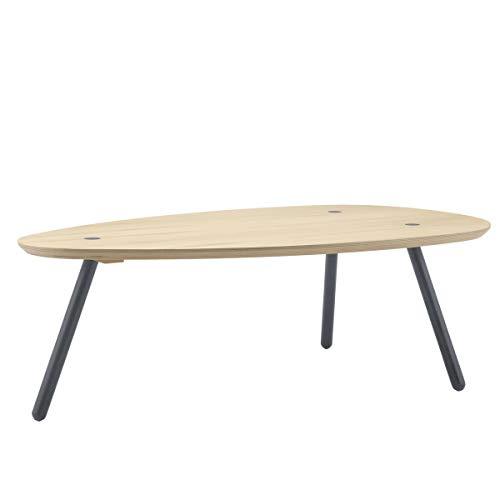 Möbel Akut Couchtisch ROLF Benz Freistil 196 Wohnzimmertisch Holz Fichte massiv oval 120 cm skandinavisch