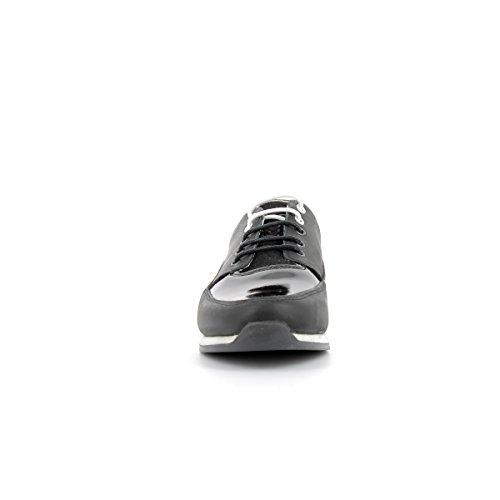 TBS - Sneakers en cuir femmes TBS - GARANCE - Chaussures / Chaussures à lacets - 36 au 41 Noir