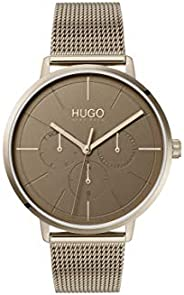 HUGO Women's Analogue Quartz Watch with Stainless Steel Strap 154