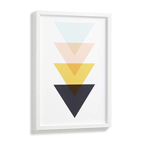 Kave Home Cuadro Bekko triángulos 43 x