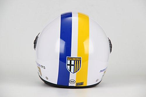 BHR 28808 Casco Demi-Jet Linea One Modello Calcio, Parma Calcio 801, XL