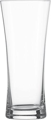 Schott Zwiesel 115271Basic 6-teiliges Lagerglas / Bierglas Set, Kristall, farblos, 8.75 x 8.75 x 20.4 cm (Bier Rund Um Die Welt)