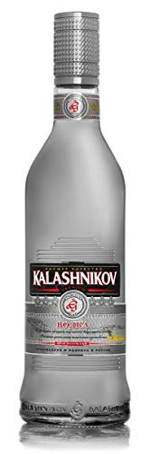 Kalashnikov Vodka Kalashnikov Premium Vodka Limited SAPPHIRE EDITION Wodka  (x 0 5)
