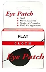 Special pack of 6 JOHN G. KYLE INC. EYE PATCH LARGE FLAT BLACK X 6 by Choice