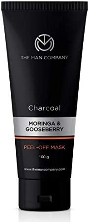 The Man Company Activated Charcoal Peel Off Mask | Remove Blackheads, Dead Skin | Face Pack For Men | Paraben