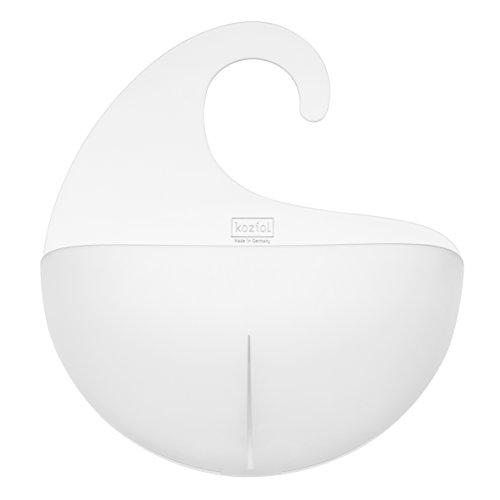 Koziol Utensilo Surf XL, Kunststoff, transparent klar, 8,1 x 27 x 31,5 cm