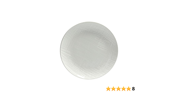 Tognana Victoria Set of 6 Soup Plates 6 Units White Porcelain